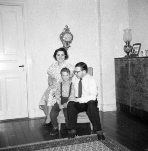 Pappa, mamma och lillebror