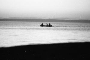 Båt på Vänern